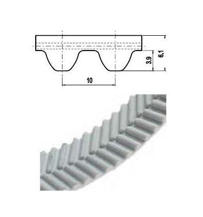 32 EAGLE 10M Lineár ozubený remeň s otv.koncom